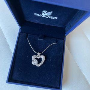 Swarovski heart necklace